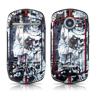 Casio G'zOne Commando Skin - Black Mass