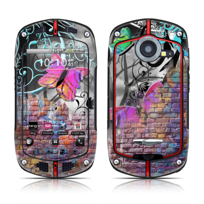 Casio G'zOne Commando Skin - Butterfly Wall
