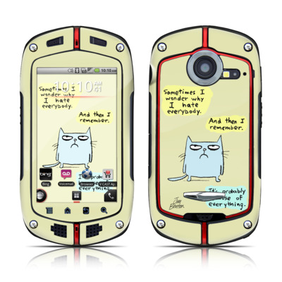 Casio G'zOne Commando Skin - Catwad Hate