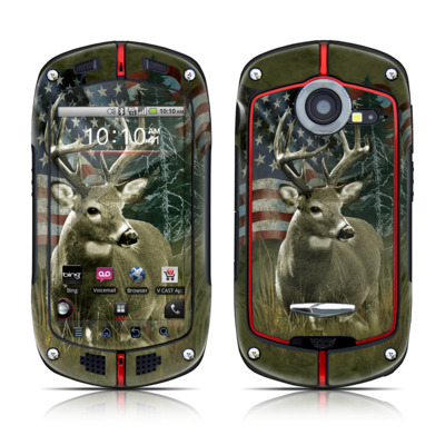 Casio G'zOne Commando Skin - Deer Flag