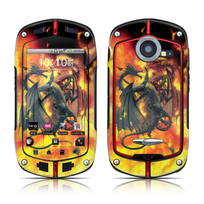 Casio G'zOne Commando Skin - Dragon Wars