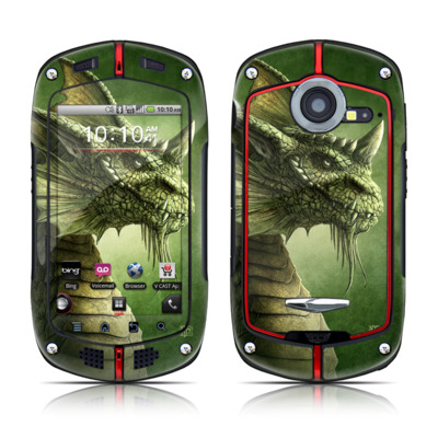 Casio G'zOne Commando Skin - Green Dragon