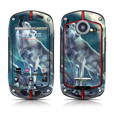Casio G'zOne Commando Skin - Howling Moon Soloist