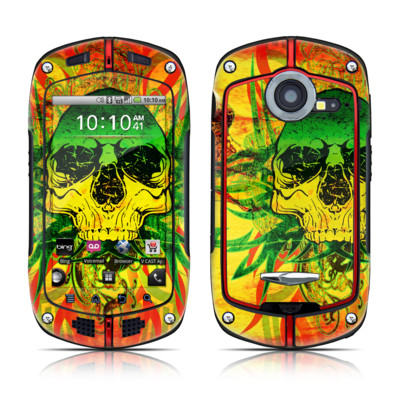 Casio G'zOne Commando Skin - Hot Tribal Skull