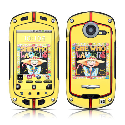 Casio G'zOne Commando Skin - She Who Laughs