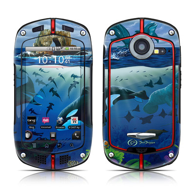 Casio G'zOne Commando Skin - Oceans For Youth