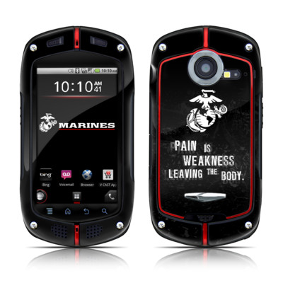 Casio G'zOne Commando Skin - Pain