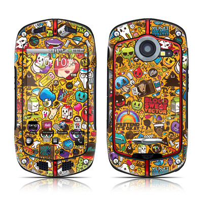 Casio G'zOne Commando Skin - Psychedelic