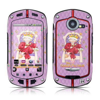 Casio G'zOne Commando Skin - Queen Mother