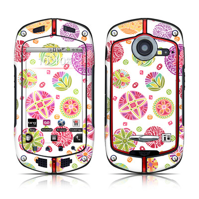 Casio G'zOne Commando Skin - Round Flowers