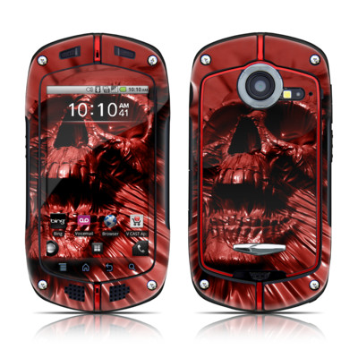 Casio G'zOne Commando Skin - Skull Blood
