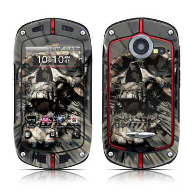 Casio G'zOne Commando Skin - Skull Wrap