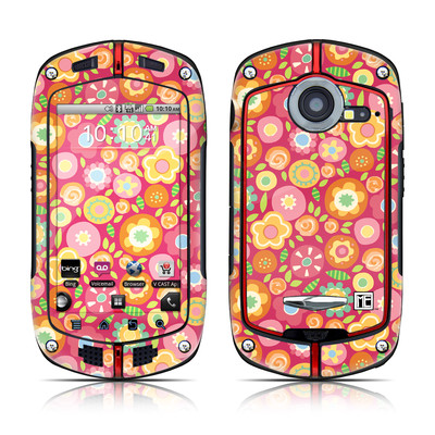 Casio G'zOne Commando Skin - Flowers Squished