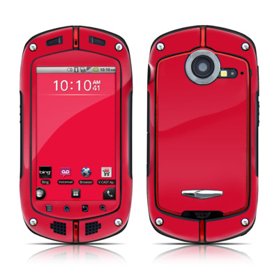 Casio G'zOne Commando Skin - Solid State Red