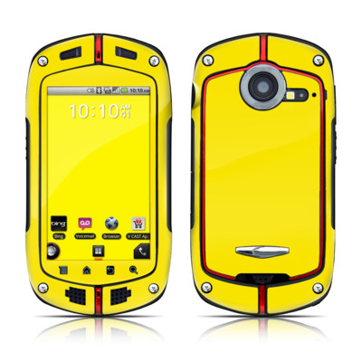 Casio G'zOne Commando Skin - Solid State Yellow