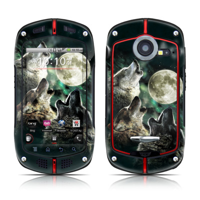 Casio G'zOne Commando Skin - Three Wolf Moon