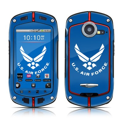 Casio G'zOne Commando Skin - USAF Blue