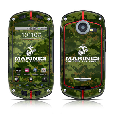 Casio G'zOne Commando Skin - USMC Camo