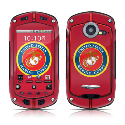 Casio G'zOne Commando Skin - USMC Red