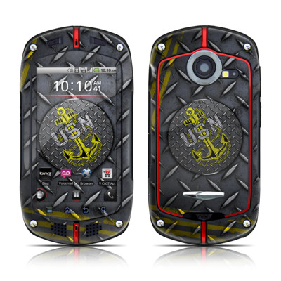 Casio G'zOne Commando Skin - USN Diamond Plate
