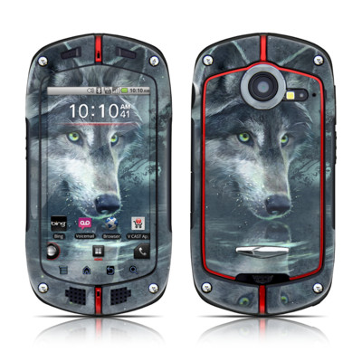 Casio G'zOne Commando Skin - Wolf Reflection