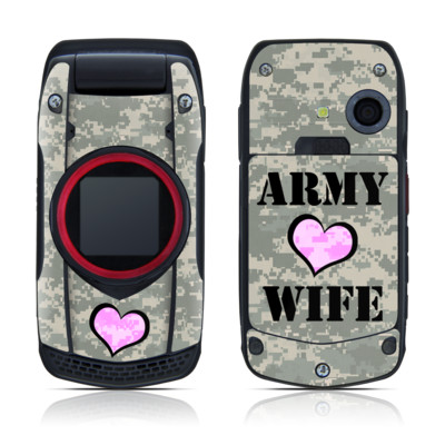 Casio G'zOne Ravine Skin - Army Wife