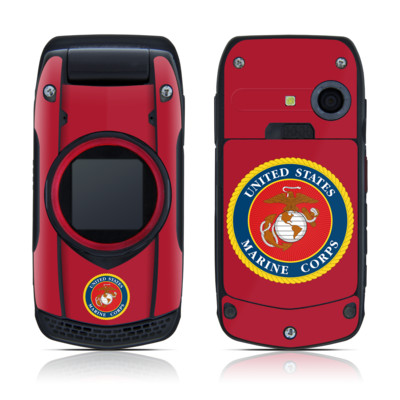 Casio G'zOne Ravine Skin - USMC Red