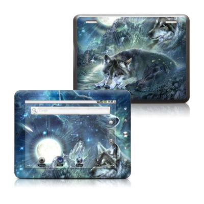 Coby Kyros 8in Tablet Skin - Bark At The Moon