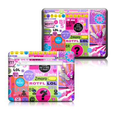 Coby Kyros 8in Tablet Skin - BFF Girl Talk