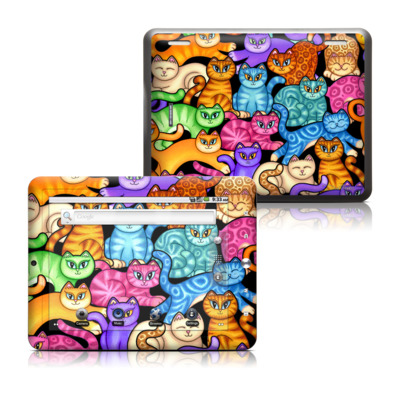 Coby Kyros 8in Tablet Skin - Colorful Kittens