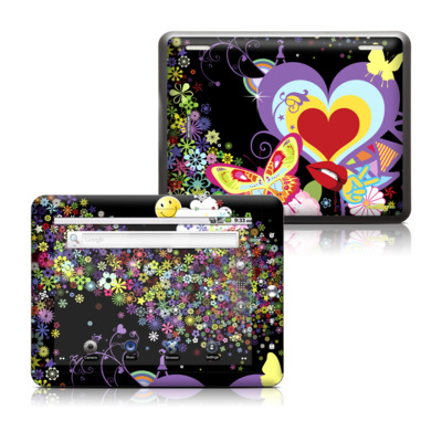 Coby Kyros 8in Tablet Skin - Flower Cloud