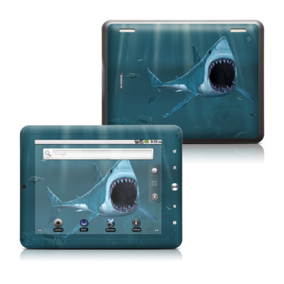 Coby Kyros 8in Tablet Skin - Great White