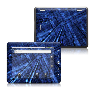 Coby Kyros 8in Tablet Skin - Grid