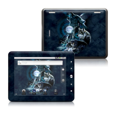 Coby Kyros 8in Tablet Skin - Howling