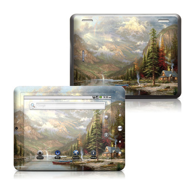 Coby Kyros 8in Tablet Skin - Mountain Majesty