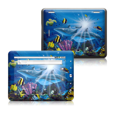 Coby Kyros 8in Tablet Skin - Ocean Friends