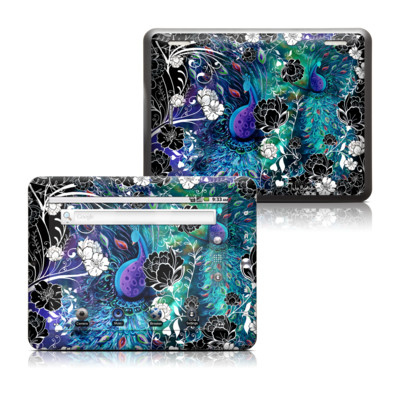 Coby Kyros 8in Tablet Skin - Peacock Garden