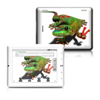 Coby Kyros 8in Tablet Skin - Peace Gecko