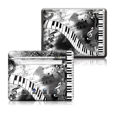 Coby Kyros 8in Tablet Skin - Piano Pizazz