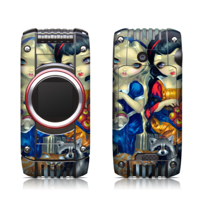 Casio G'zone Ravine 2 Skin - Alice & Snow White