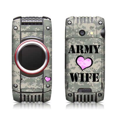 Casio G'zone Ravine 2 Skin - Army Wife