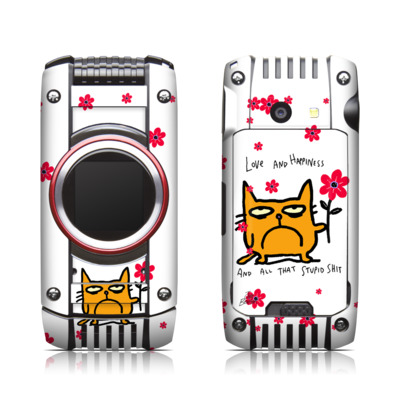 Casio G'zone Ravine 2 Skin - Catwad Happy