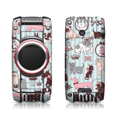 Casio G'zone Ravine 2 Skin - Doggy Boudoir