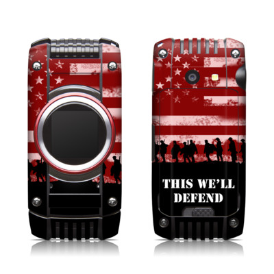 Casio G'zone Ravine 2 Skin - Defend