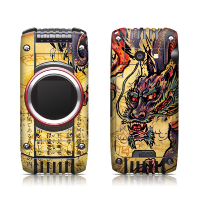 Casio G'zone Ravine 2 Skin - Dragon Legend