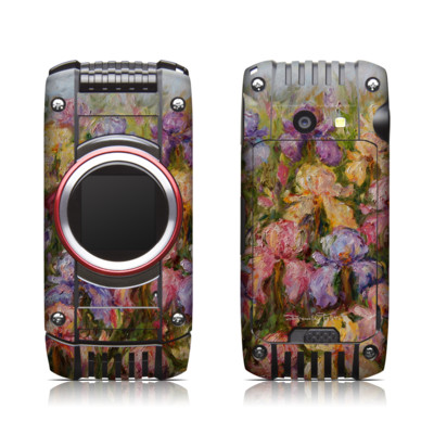 Casio G'zone Ravine 2 Skin - Field Of Irises