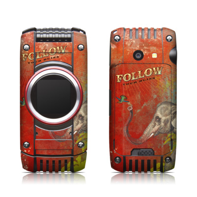 Casio G'zone Ravine 2 Skin - Follow Your Bliss