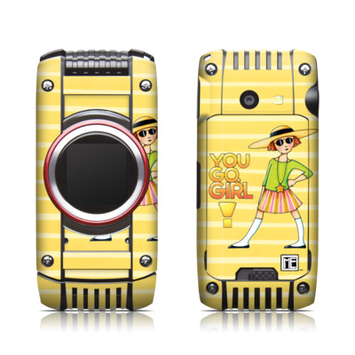 Casio G'zone Ravine 2 Skin - You Go Girl