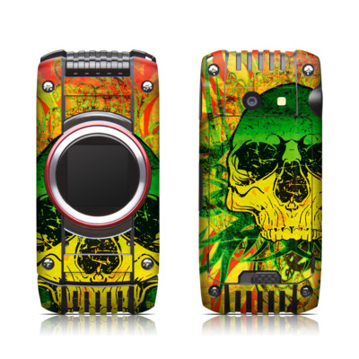 Casio G'zone Ravine 2 Skin - Hot Tribal Skull