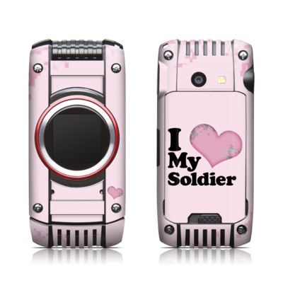 Casio G'zone Ravine 2 Skin - I Love My Soldier